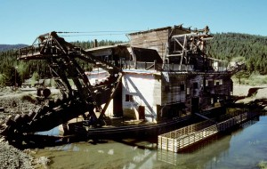 The Sumpter Valley Gold Dredge mined $4,500,000 in gold at the price of $35 per ounce. The irony is most of the gold is still there.
