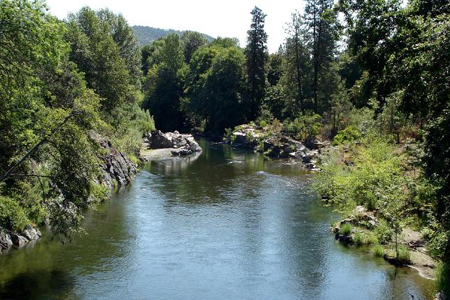 The Applegate River - Oregon Gold Location