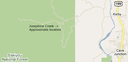 josephine-creek-map