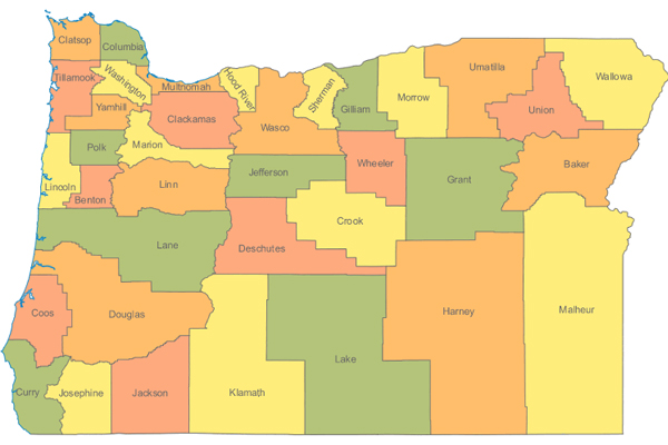 oregon-counties