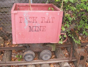 Pack rat Mine Ore Car