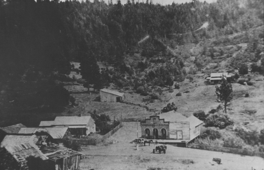 Waldo, Oregon in 1890